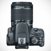 Canon EOS Rebel SL1 Digital SLR Camera - Top with Lens