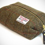 Harris Tweed Toiletry Bag by Catherine Aitken