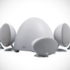 KEF E305 Home Theater Speaker System - Pure White