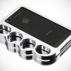 Knucklecase: The Original Patented Knucklecase for iPhone 5 - Classic Silver