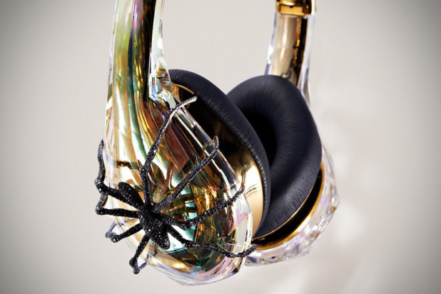 Monster Diamond Tears Sally Sohn Edition Headphone closeup
