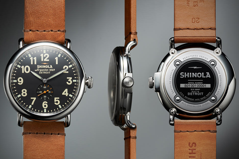 Shinola The Runwell Wrist Watch