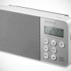 Sony XDR-S40DBP Digital Radio - White