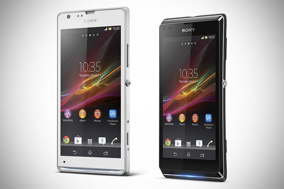 Sony Xperia SP and Xperia L Smartphones