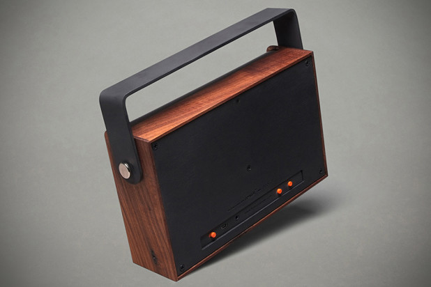The Kendall Portable Bluetooth Speaker - Back