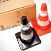 Traffic Cones Salt & Pepper Shakers - The Packaging