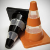 Traffic Cones Salt & Pepper Shakers