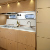 Airstream Land Yacht Trailer - Interior: Hideaway Galley