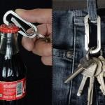 BAUHAUS Titanium Keychain / Key Carabiner