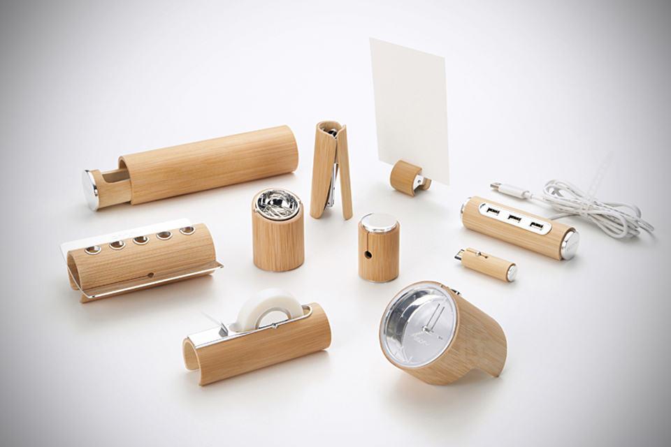Bamboo Stationery Set by Yu Jian
