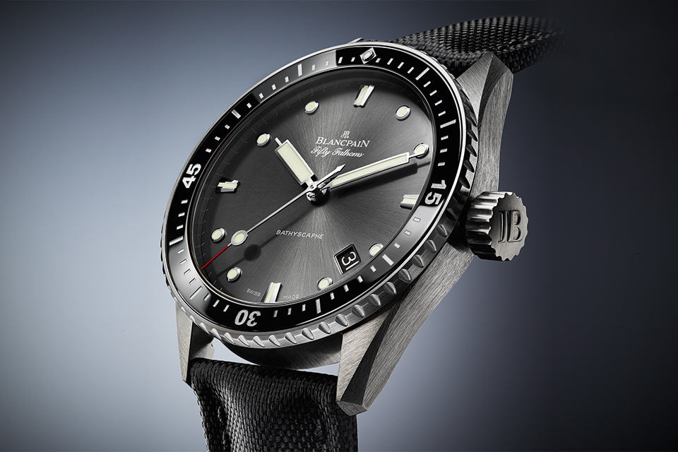 Blancpain Fifty Fathoms Bathyscaphe at BASELWORLD 2013