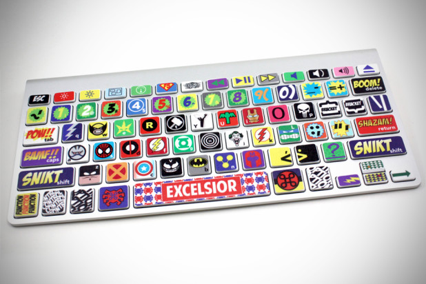 Comic Keyboard Stickers for MacBook - MIKESHOUTS