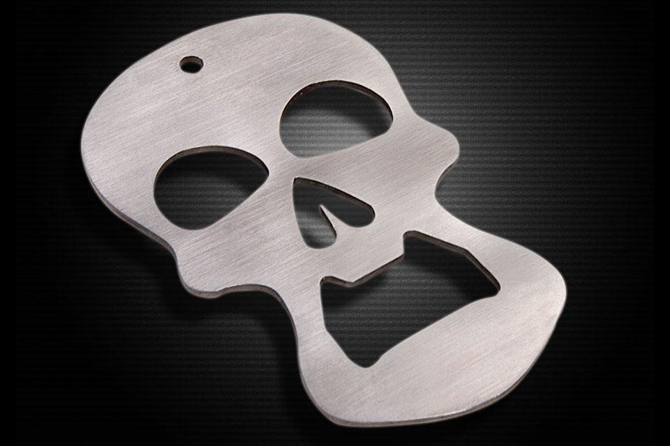 Crranky Skull Bottle Opener