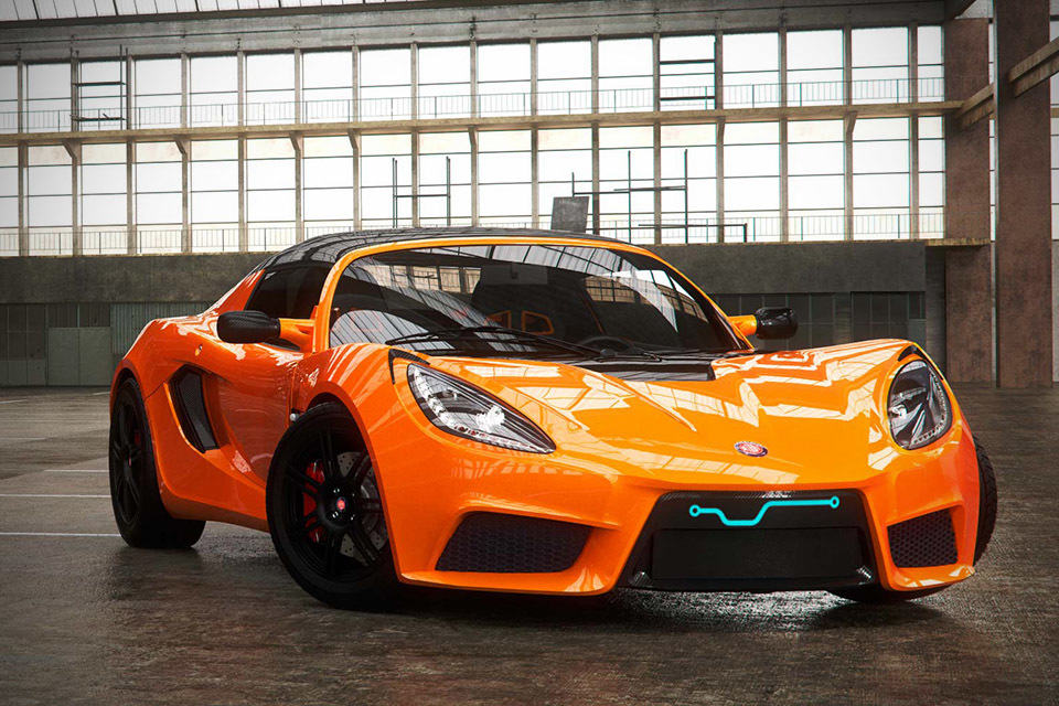 Electric Sports Car 64