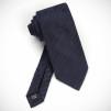 Dunhill Provenance Seven Fold Neckties - Navy Self Stripe