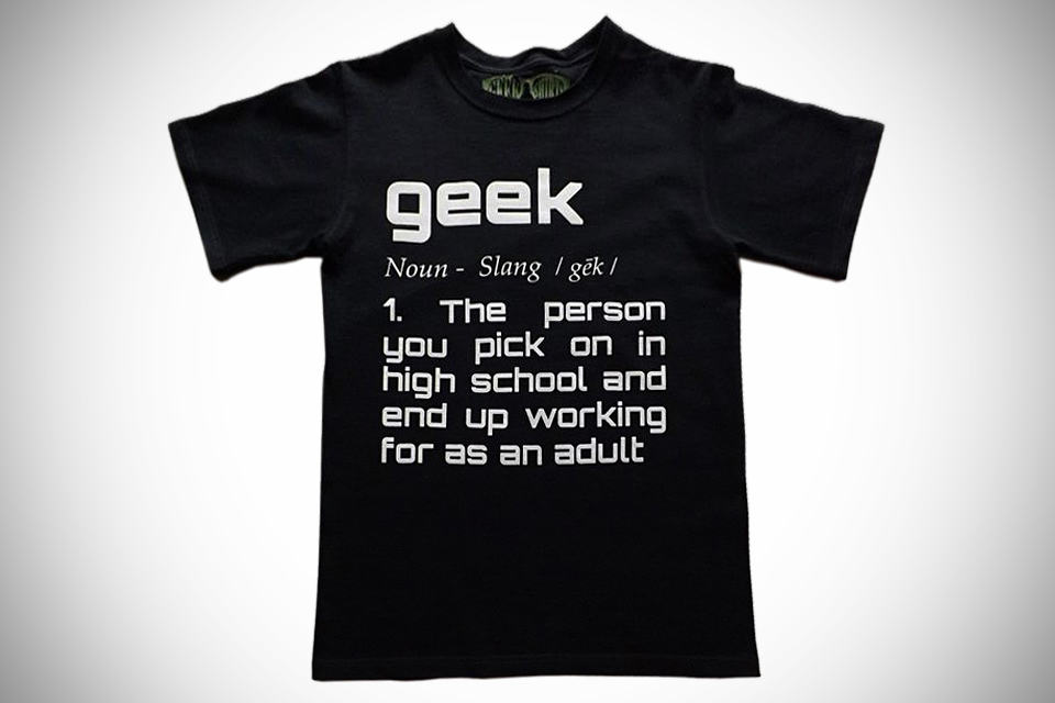 Geek Definition T-Shirt by Geek Shirts For Geeks