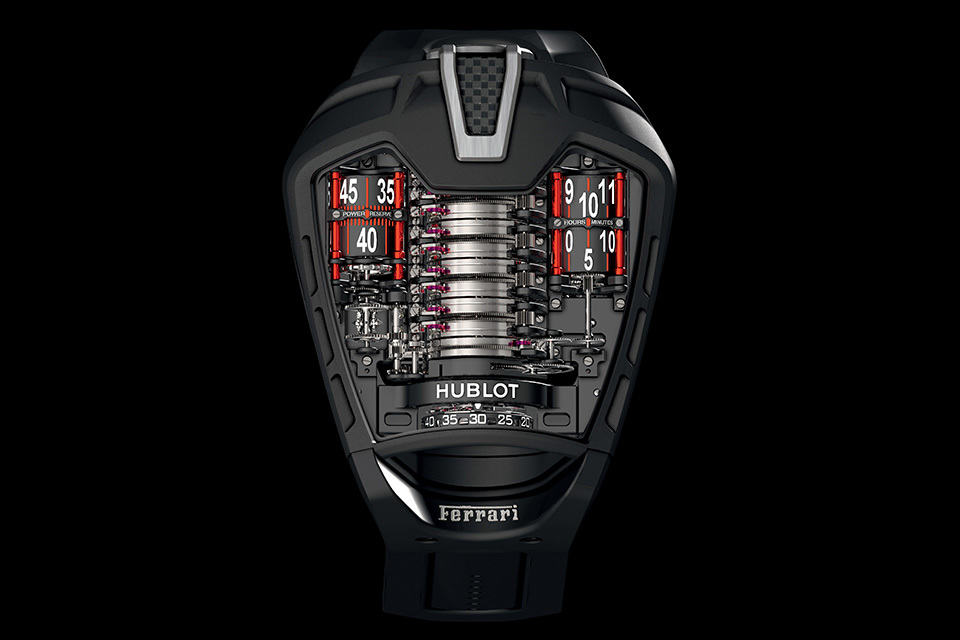 Hublot Masterpiece MP-05 LaFerrari at BASELWORLD 2013