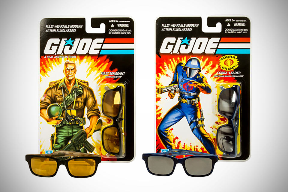 Look/See x G.I. Joe Sunglasses - Cobra Commander and Duke