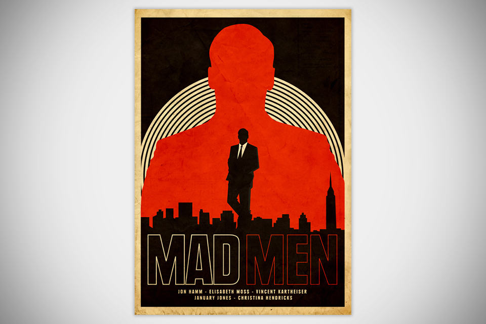 Mad Men Print by Needle Design [Poster] - Unframed