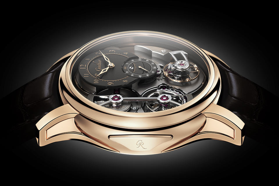 Romain Gauthier Logical One at BASELWORLD 2013 - Red Gold Side