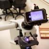 Snapzoom Universal Smartphone Scope Adapter with microscope