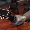 Snapzoom Universal Smartphone Scope Adapter with spotting scope