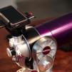 Snapzoom Universal Smartphone Scope Adapter with telescope