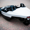 TORQ Electric Three-Wheeler Roadster