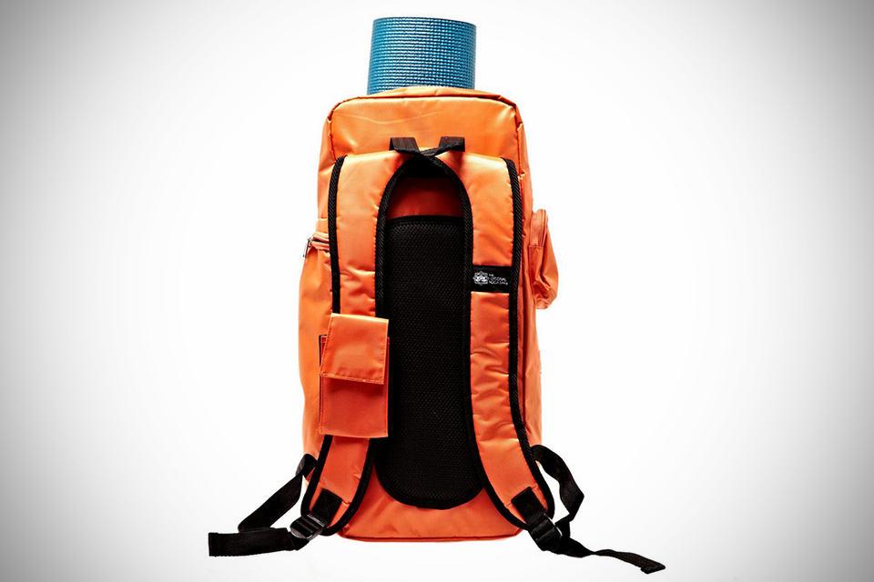 Yoga Sak - Yoga Backpack - Orange Back 626042cf3fbaa