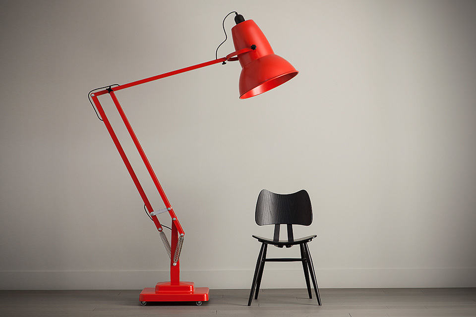 anglepoise giant 1227 floor lamp mikeshouts. Black Bedroom Furniture Sets. Home Design Ideas