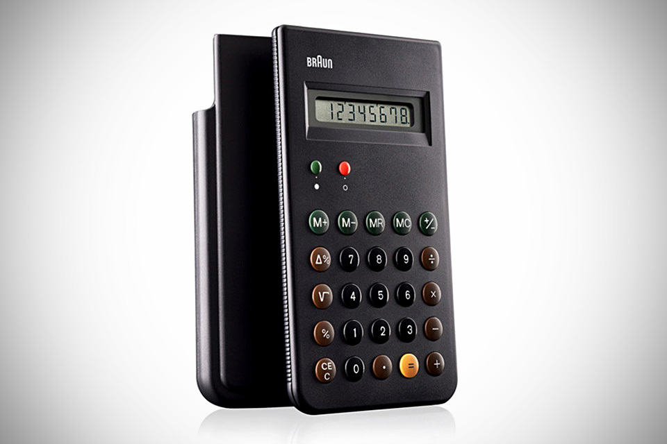 BRAUN ET66 Calculator Re-issue