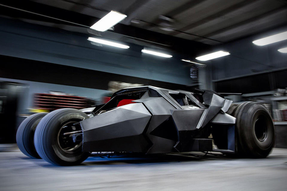 Batman Tumbler Replica for Gumball 3000 Rally