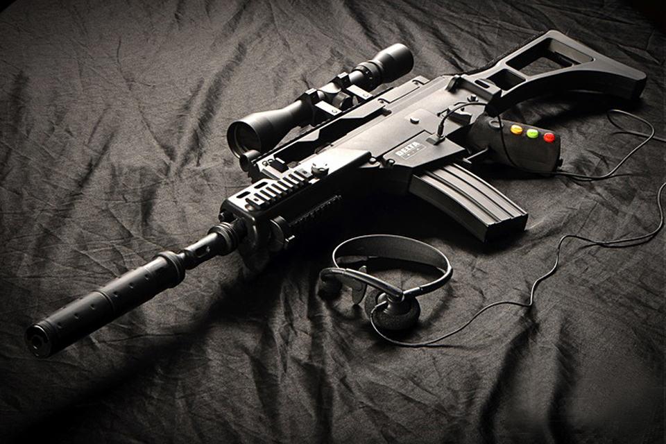 DELTA SIX Gaming Gun