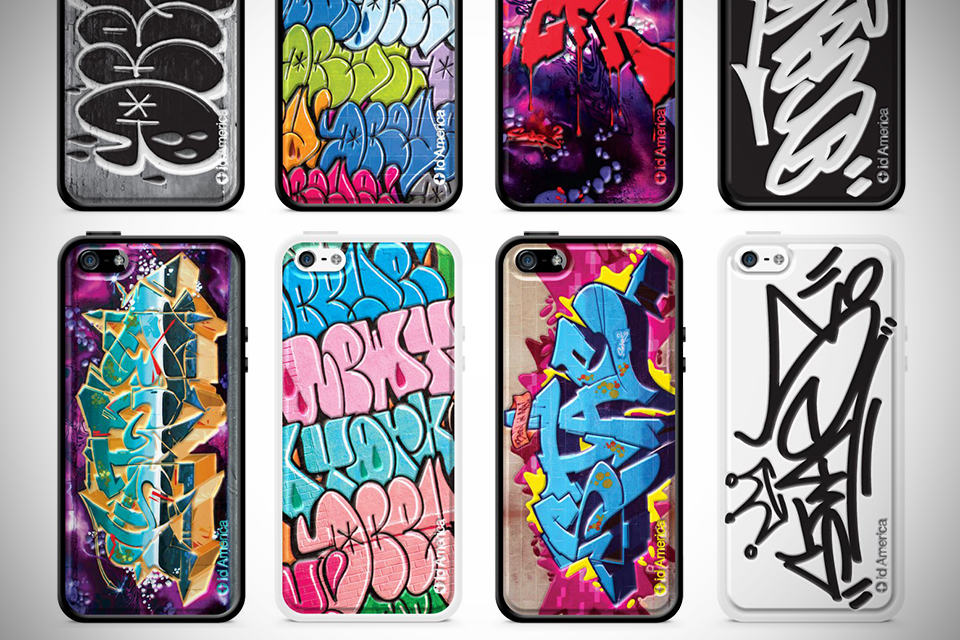 Graffiti Series iPhone 5 Case by id America