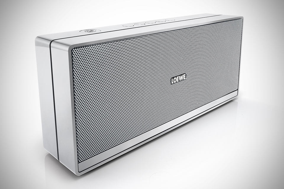 Loewe Speaker 2go NFC-enabled Bluetooth Speaker - Silver