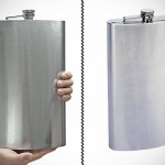 Maxam Enormous 1 Gallon Stainless Steel Flask