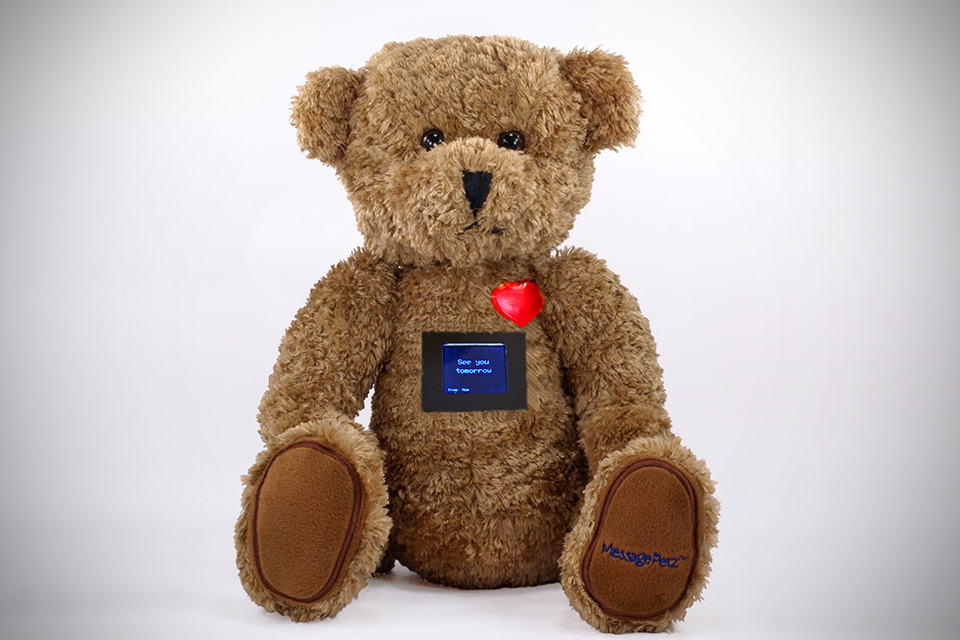 MessagePetz WiFi-enabled Teddy Bear