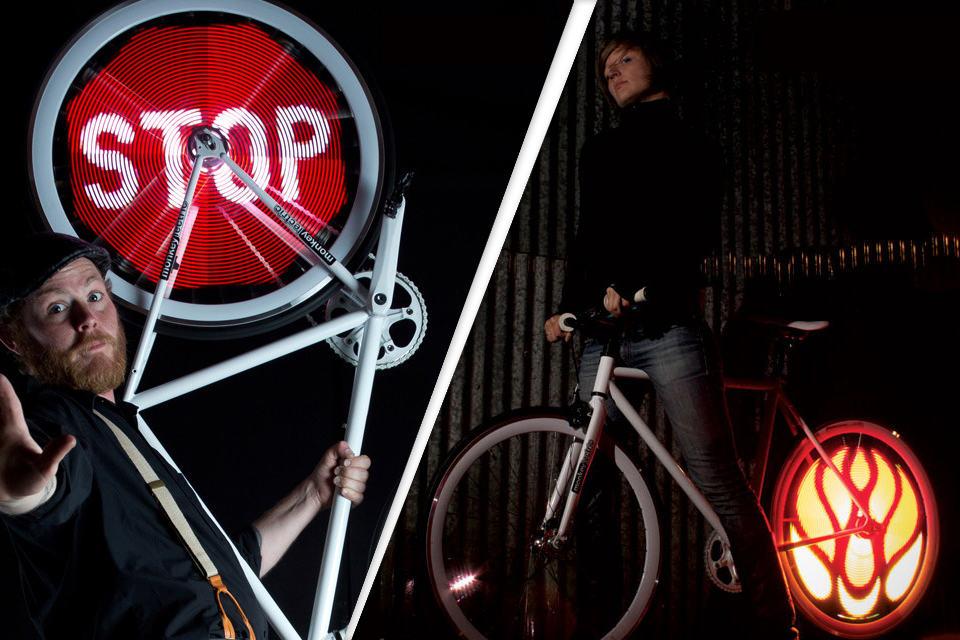 Monkey Light Pro Bicycle Wheel Display System
