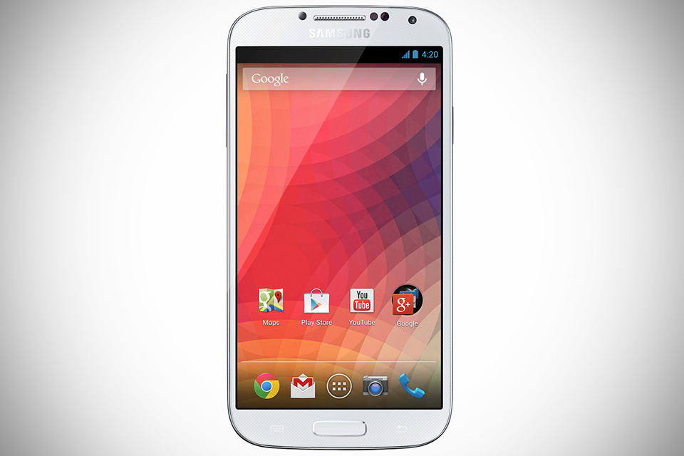 Samsung GALAXY S 4 with stock Android Jelly Bean