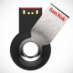 SanDisk Cruzer Orbit USB Flash Drive