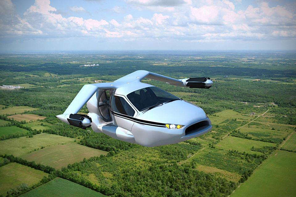 Terrafugia TF-X Vertical Take-Off Flying Car