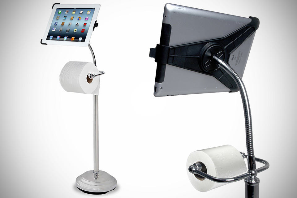 The iPad Commode Caddy by CTA Digital