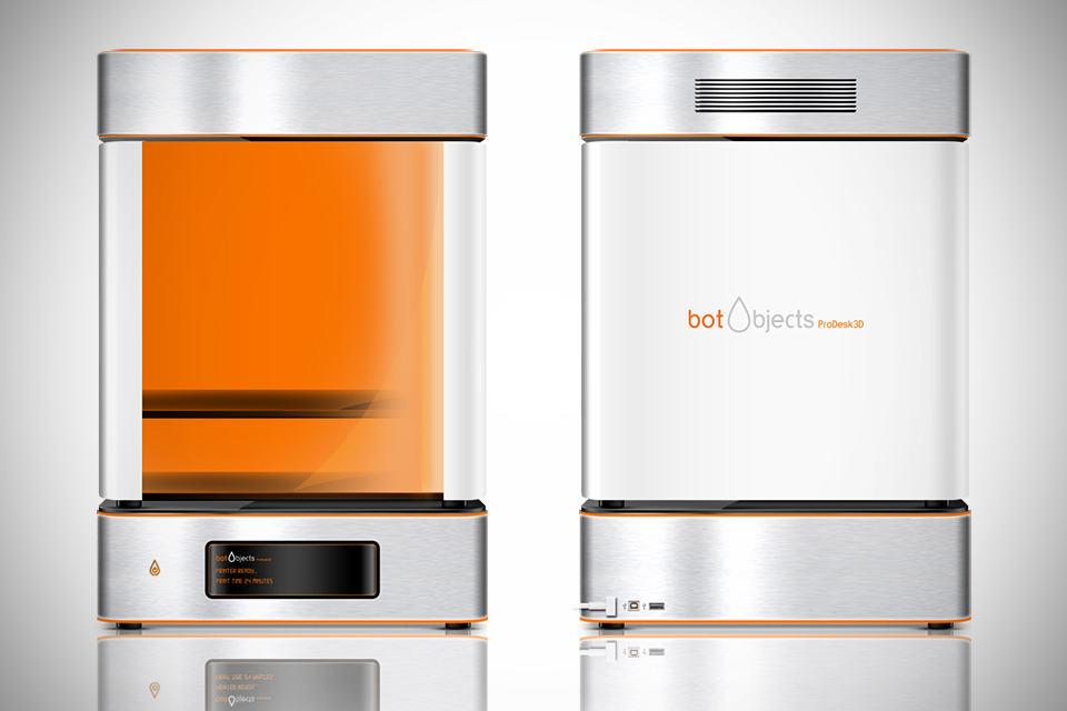 botObjects ProDesk3D Full Color 3D Desktop Printer