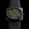Bell & Ross BR01 FLIGHT HEADING INDICATOR