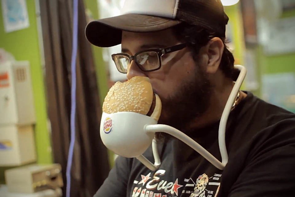 Burger King Hands Free Whopper - Tattoo Artist