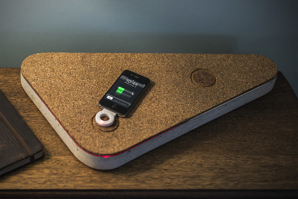 Concrete Wireless Induction Charger