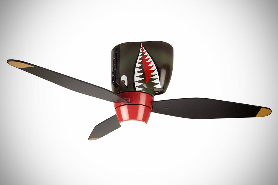 Craftmade Tiger Shark Warplane Ceiling Fan