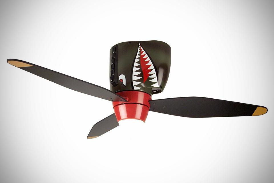 Craftmade Tiger Shark Warplane Ceiling Fan Shouts