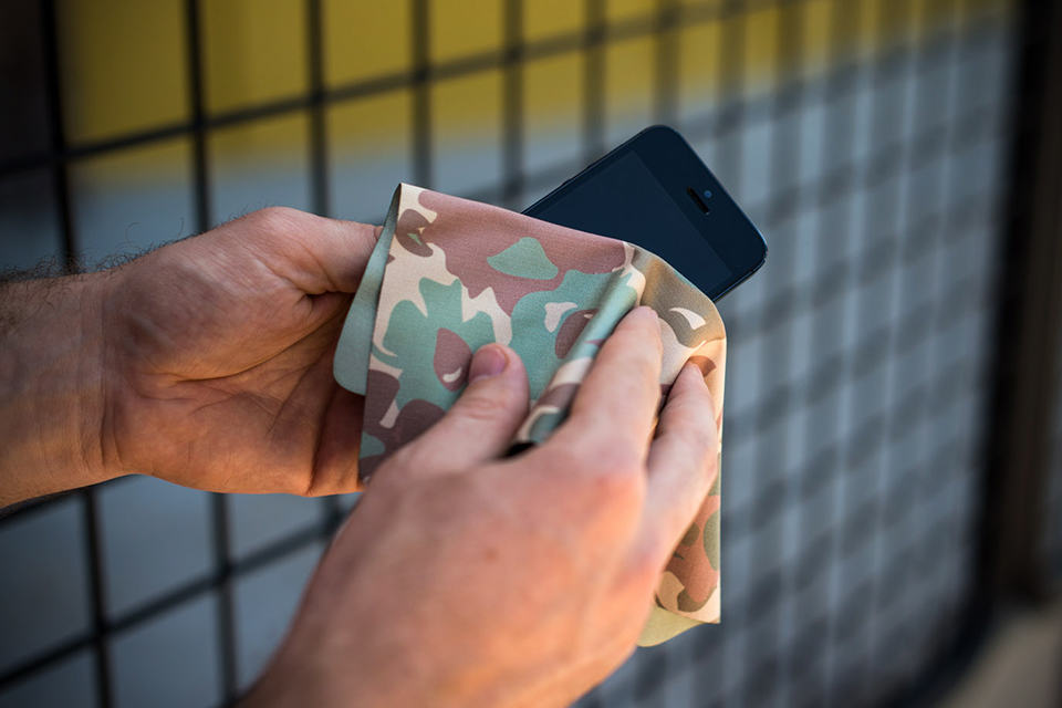 Designer Printed Microfiber Cloths by Declan