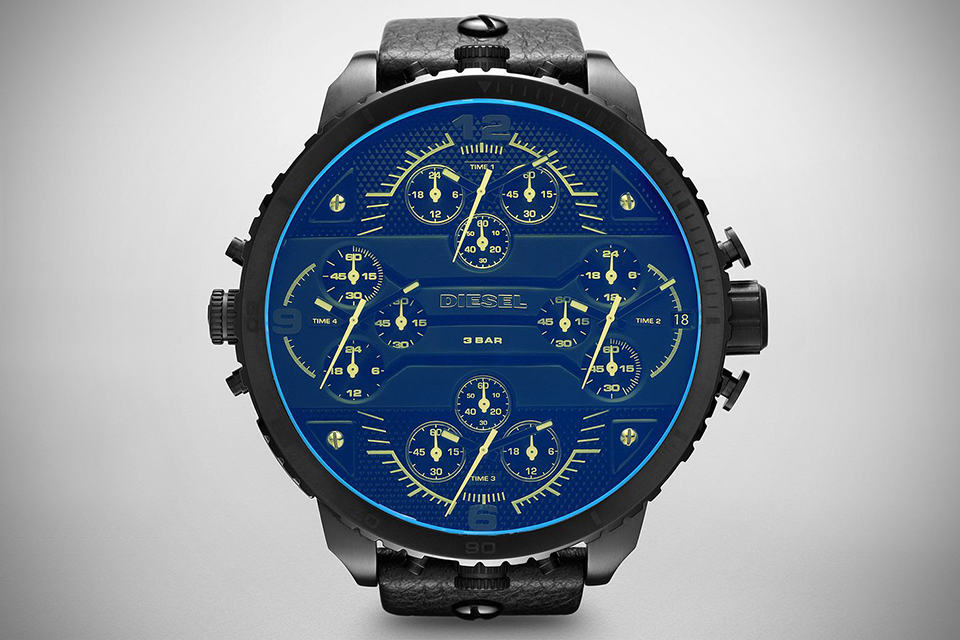 Diesel Limited Edition Grand Daddy Chronograph Watch